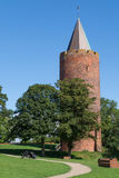 Gåsetårnet, Vordingborg, Denemarken Royalty-vrije Stock Afbeelding