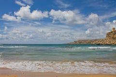 Għajn Tuffieħa Stockfoto