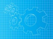 Gänge 3D Lizenzfreies Stockbild