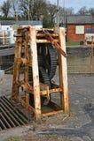 Gänge für Schleusentoren Lizenzfreie Stockfotos