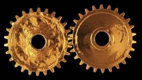 Gänge Mechanisches Technologiemaschinenkonzept lizenzfreie abbildung