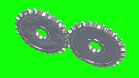 Gänge Mechanisches Technologiemaschinenkonzept vektor abbildung