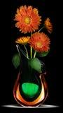 Gänseblümchen im Vase Stockfotografie