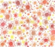 Gänseblümchenhintergrundserie. Lizenzfreie Stockbilder