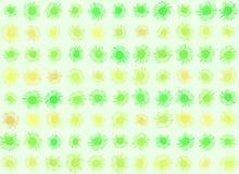 Gänseblümchenhintergrundserie. Vektor Abbildung