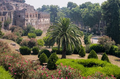 Gärten außerhalb Pompejis Lizenzfreies Stockbild