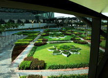 Gärten in Bankok Lizenzfreie Stockfotos