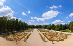 Gärten in Bialystok Stockbilder