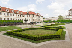 Gärten des Senats in Prag Lizenzfreies Stockbild