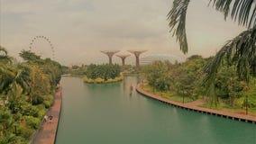 Gärten durch den Schacht, Singapur Lizenzfreies Stockbild