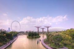 Gärten durch den Schacht, Singapur Lizenzfreie Stockfotografie