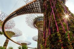 Gärten durch die Bucht Lizenzfreie Stockfotografie