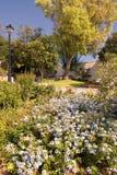 Gärten in Mijas lizenzfreies stockbild