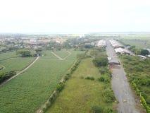 Gärten und Industrien Lizenzfreies Stockfoto