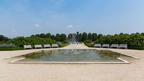 Gärten Venaria Reale, Turin lizenzfreies stockfoto