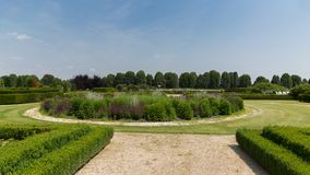 Gärten Venaria Reale, Turin stockfotos