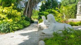 Gärten in Vizcaya Miami Lizenzfreies Stockbild