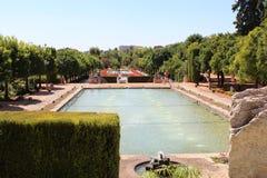 Gärten von Alcazar Christian Monarchss, Cordoba, Spanien Lizenzfreies Stockbild