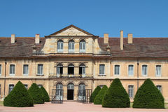 Gärten von Cluny Abbey lizenzfreies stockfoto