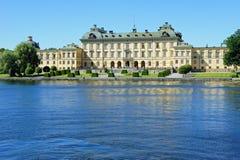 Gärten von Drottningholm-Palast in Schweden stockfotos