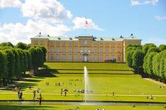 Gärten von Frederiksberg-Palast, Kopenhagen stockfoto