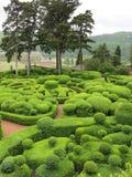 Gärten von Marqueyssac Lizenzfreies Stockfoto