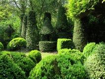 Gärten von Sericourt Lizenzfreie Stockfotos