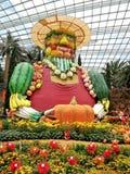 Gärtner von Obst und Gemüse von lizenzfreie stockfotos