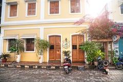 Gästehaus in Puducherry Lizenzfreies Stockbild