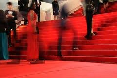 Gästen deltar i 'Macbethen', Royaltyfri Foto