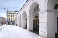 Gästfri domstol i Kostroma Royaltyfria Foton