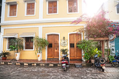 Gästhem i Puducherry Royaltyfri Bild