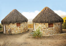 Gästhus i Sardinia Royaltyfria Bilder