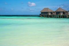 Gästhus på havet Fotografering för Bildbyråer