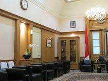 Gästrum på det Jakarta stadshuset arkivbild