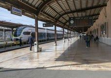 Główny dworzec w Zagreb, Chorwacja fotografia stock