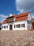 从GÅ 'usk,鲁布林,波兰的镇大厅 免版税图库摄影