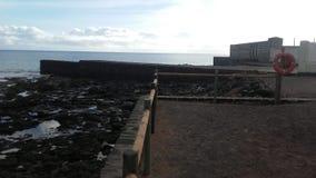 Gå arounPlaya Blanca i Fuerteventura, Canarias royaltyfri bild