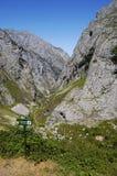 gå för asturias route royaltyfri fotografi