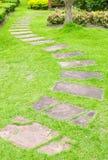 gå för gräsgreensten Royaltyfria Bilder