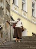 gå för pensionärer Royaltyfria Bilder