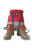 gå för ryggsäckskor Royaltyfri Foto