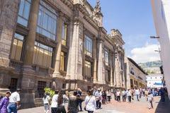 Gå i gatorna av Quito Royaltyfria Foton