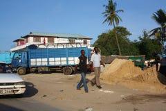 Gå i Mombasa Royaltyfri Bild