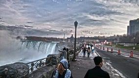 Gå i Niagara Arkivbild