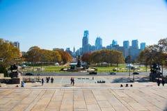 Gå i Philadelphia Royaltyfri Bild