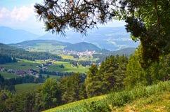 Gå i Trentino Alto Adige Arkivbild