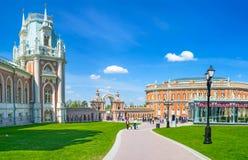 Gå i Tsaritsyno Fotografering för Bildbyråer