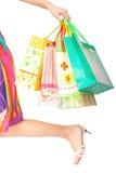 gå låt s-shopping Royaltyfria Bilder