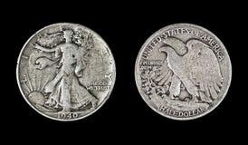 Gå Liberty Half Dollar, 1940 Royaltyfri Bild